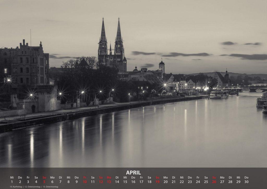 Kalender 2020 - April