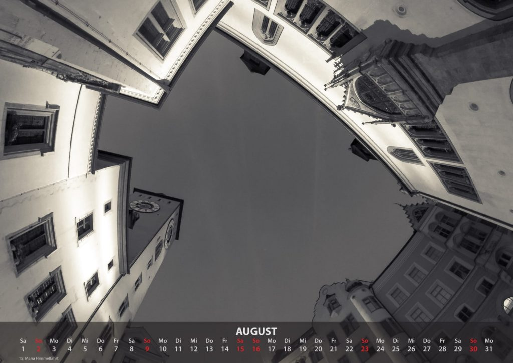 Kalender 2020 - August