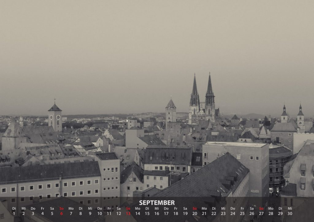 Kalender 2020 - September