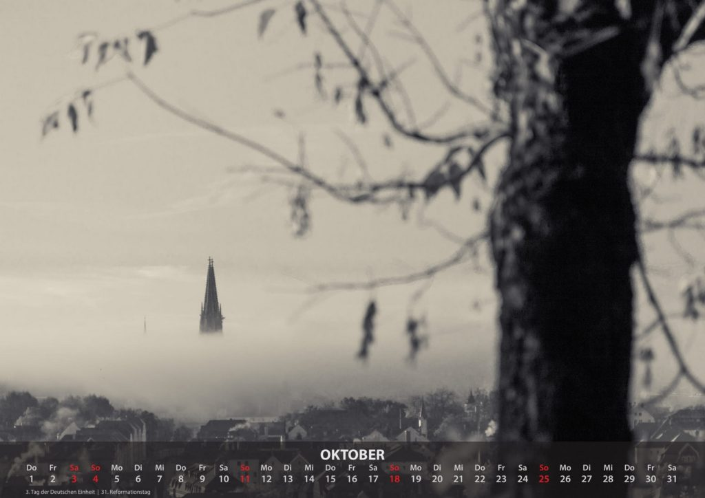 Kalender 2020 - Oktober